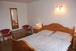 Schlafzimmer, Doppelbett, Wohnung Ines